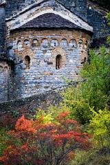 Madone del Poggio, abside, Saorge, Alpes-Maritimes