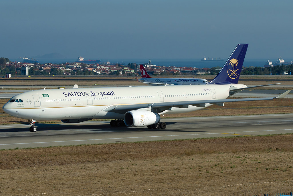 HZ-AQ12 - A333 - Saudi Arabian Airlines