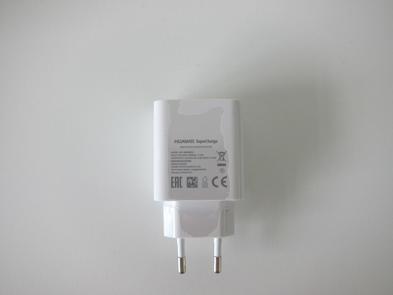 Huawei Mate 9 - Huawei SuperCharge Charger