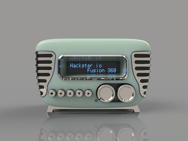 RAspi Web radio
