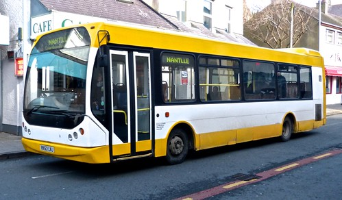 RX53 LNJ 'Express Motors' MAN 14.200 / East Lancs Myllenium. on Dennis Basford's 'railsroadsrunways.blogspot.co.uk'