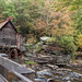 Big View of Glade Creek Grist Mill..