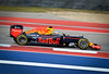 Daniel Ricciardo at the Austin, Texas F1 Race