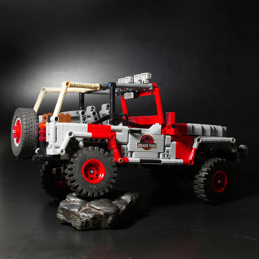 jurassic park jeep lego technic mindstorms model team eurobricks forums. Black Bedroom Furniture Sets. Home Design Ideas