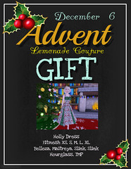 Advent Gift December 6 @ Lemonade Couture