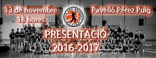 PRECENTACIÓ 2016-2017