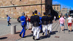 Change of Guards at The Royal Palace, Stockholm