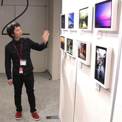写真家の方に講評をいただきつつ。なんと、エプソンニューフォトフォーラムに展示していただけることになりました!11月26日、新宿 LUMINE 0<ルミネ ゼロ>です。 #エプソンブロガーイベント