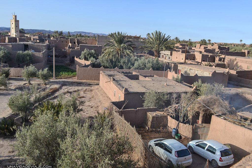 Marruecos Ourzazate kasbah Trourirt