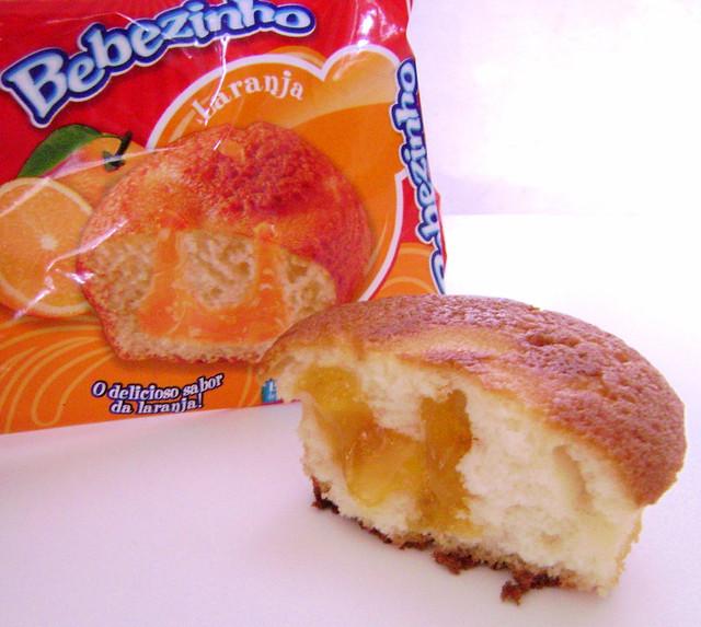 Bolinho de laranja Panco