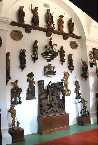Archduke Franz Ferdinand d'Este's Art Collection Devoted to St. George, Konopiste CZECH REPUBLIC