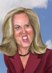 Ann Romney - Caricature