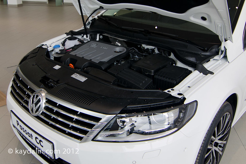 passat cc 2012 engine