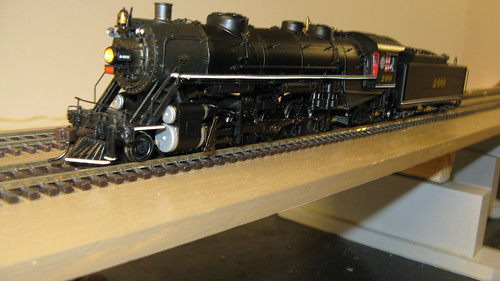 H.O Scale Bachman Spectrum Series U.S.R.A Baldwin light 2-10-2 steam locomotive. by Eddie from Chicago