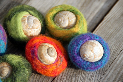 felting experiment.