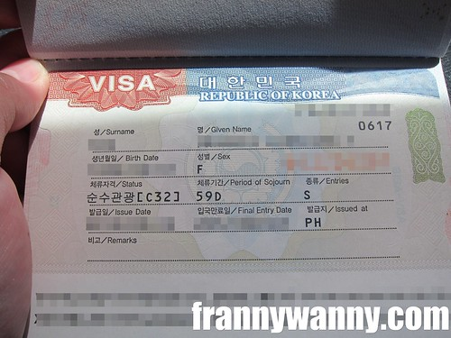 korean visa 1