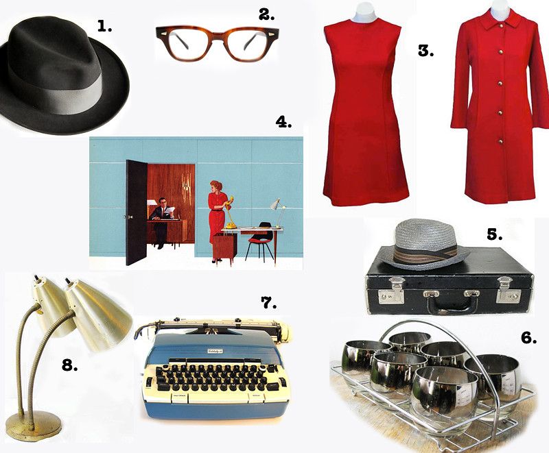 Mad Men Etsy Favs