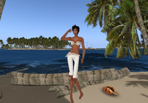 Prism Hamptons by Journey Scrolls (with pants), 97 lindens by Cherokeeh Asteria