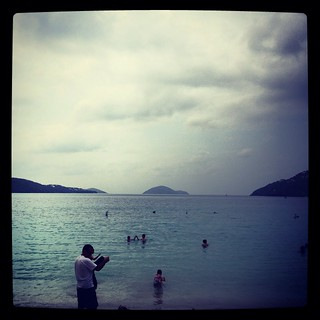 Image of Magens Bay Beach near Charlotte Amalie.