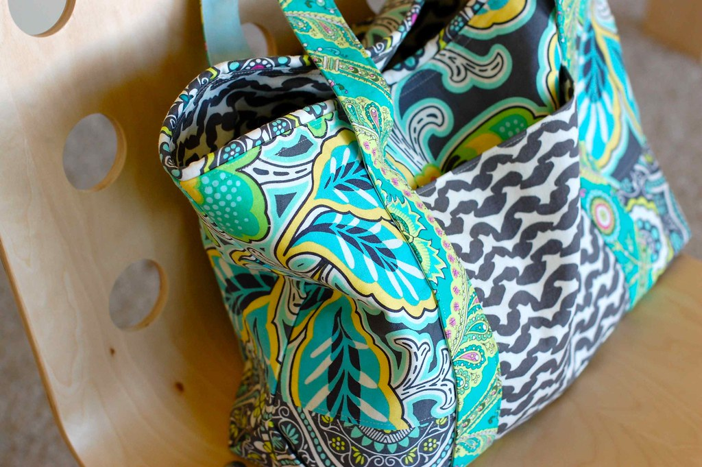 gorgeous fabric, perfectly sewn