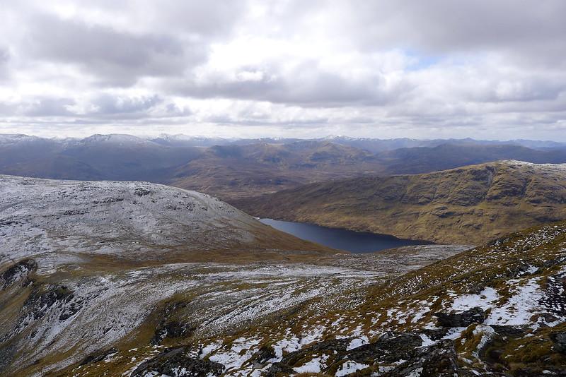 Loch Calavie and Ben Dronaig