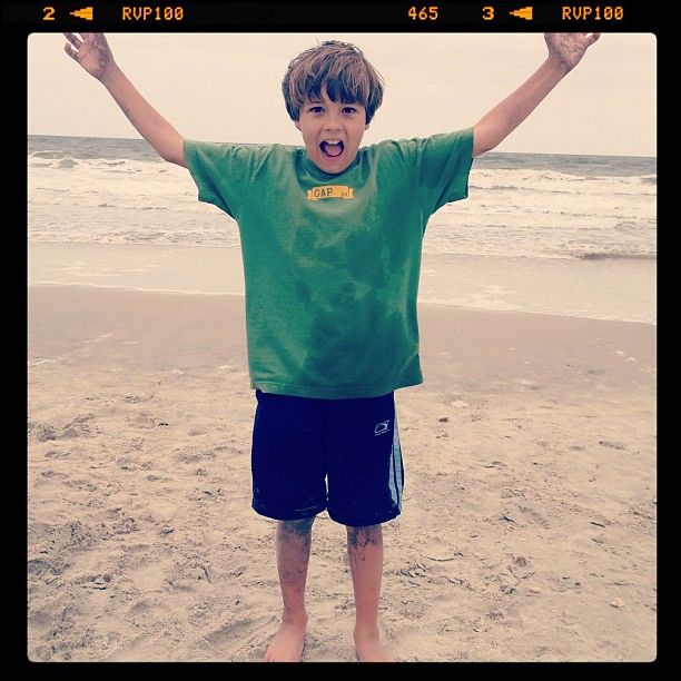 I love having a kid that loves the beach as much as I do