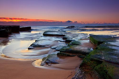 light seascape beach rock sunrise geotagged moss first layered turimetta geo:lat=3370065415489459 geo:lon=15130893888954927