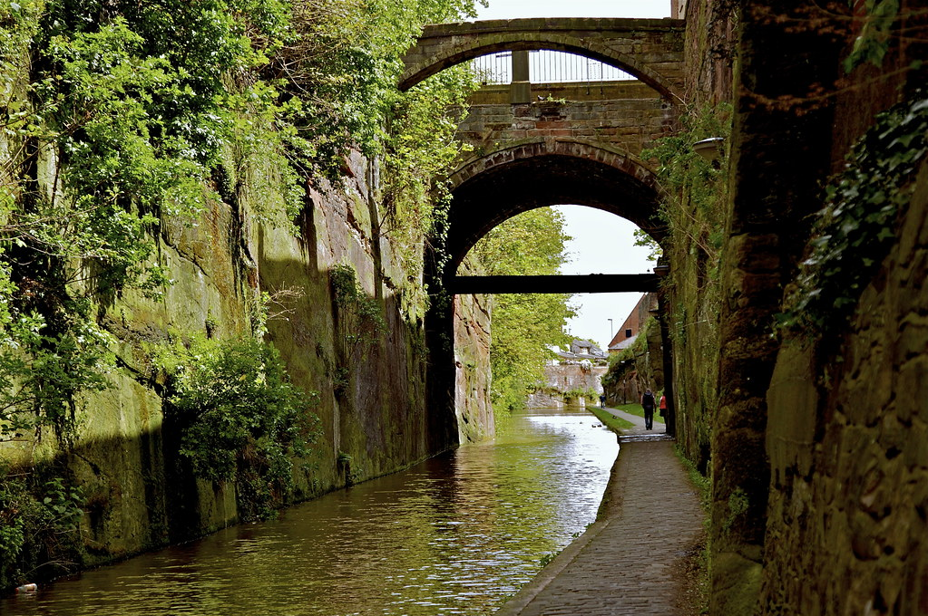 CHESTER ON THE BANKS OF THE CANAL