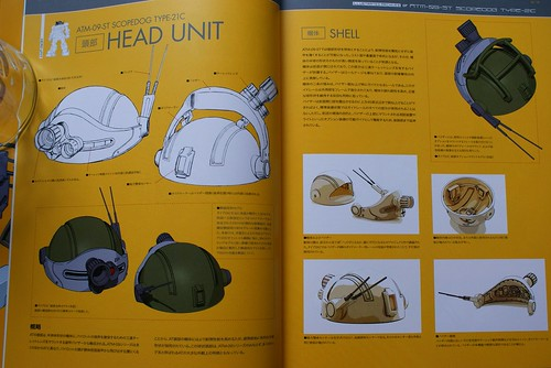 Armored Trooper VOTOMS Master Book - SCOPEDOG 21C - 3