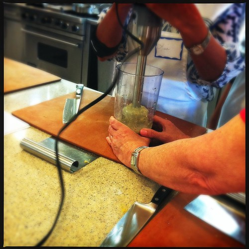 Immersion Blender, Viking Cooking School, Memphis, Tenn.