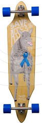 Longboard Madrid Creep Blue Ribbon