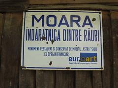 Morile de la Eftimie Murgu - plăcuță