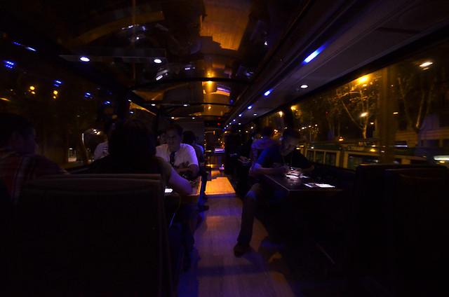 En el gourmetbus de Barcelona