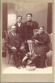 Cabinet Card - Group Photo