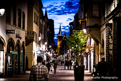 Nightlights in Strasbourg by Dirk Mueller Photography