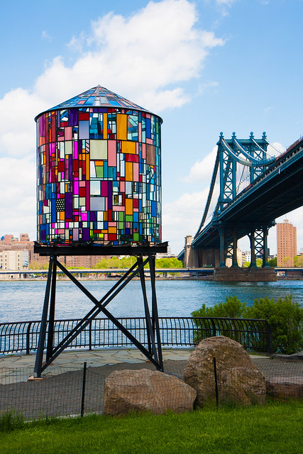 Tom Fruin, Watertower