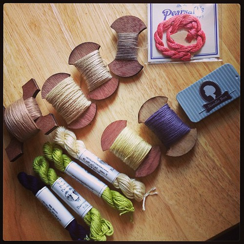 Beautiful goodies from Needleworks.