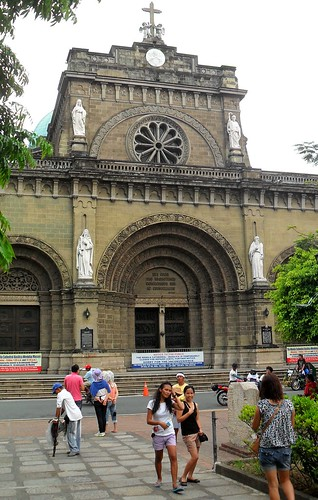 The Manila Cathedral and Square