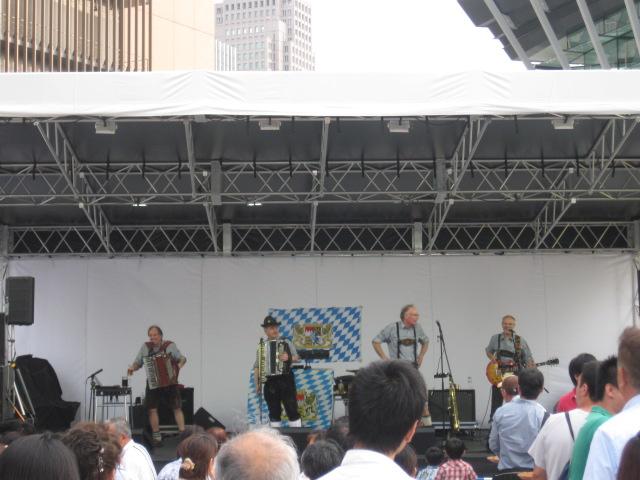 オクトーバーフェストのドイツバンド