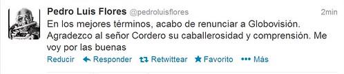 Pedro Luis Flores (pedroluisflores) en Twitter - Google Chrome