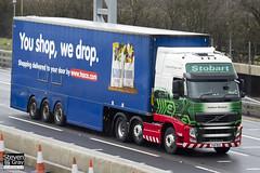 Volvo FH 6x2 Tractor - PX11 BZG - Kathleen Elizabeth - Eddie Stobart - M1 J10 Luton - Steven Gray - IMG_8061