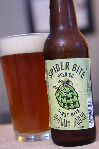 Spider Bite Beer Co. First Bite Pale Ale