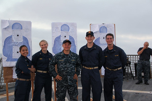 SAN DIEGO, CA. - USS BENFOLD (DDG 65) is playing host to six Midshipmen as part of the yearly Summer Cruise training that is bestowed upon thousands of college students bound for service as Commissioned Officers in the United States Navy.