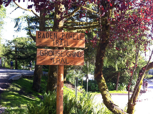 Bottom of the Grouse Grind