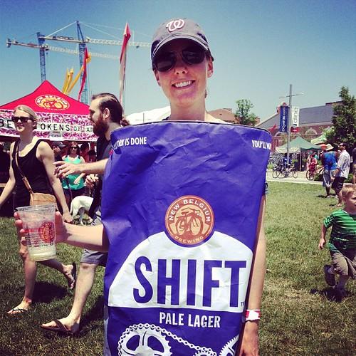 My next job #tourdefat #shift #beer #newbelgium