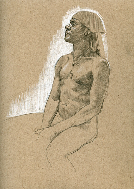life drawing at DU