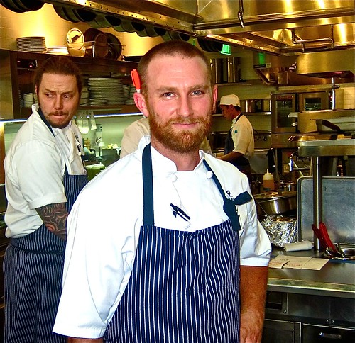 sam marvin, the exec chef