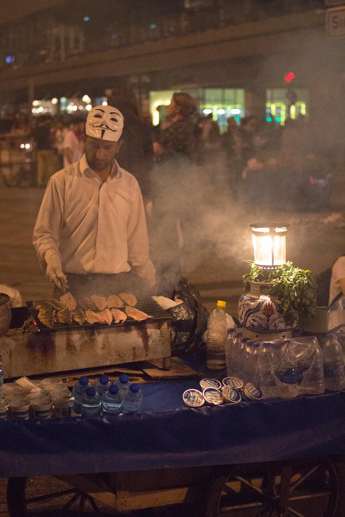Protestors Gotta Eat, Too!