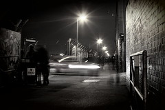 Fratton Park at Night