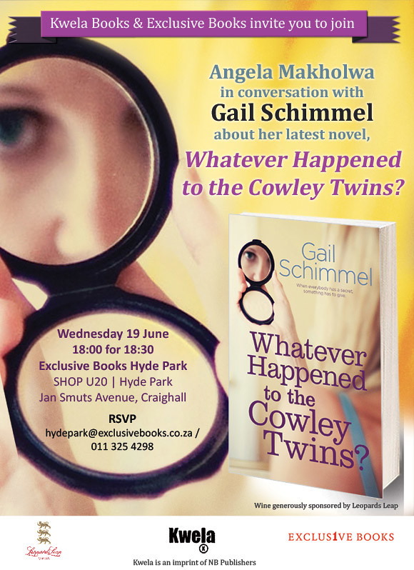 Invitation: Launch of Whatever Happened to the Cowley Twins?